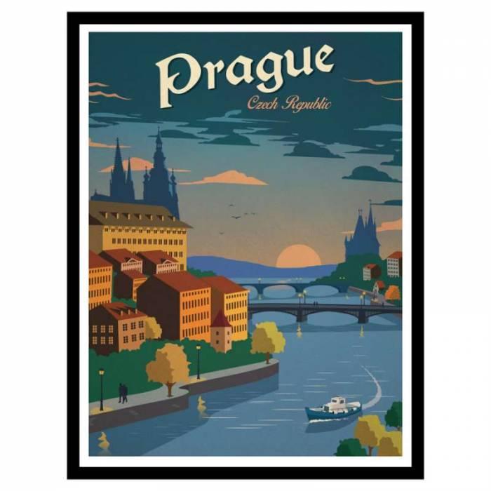 Poster de călătorie Praga