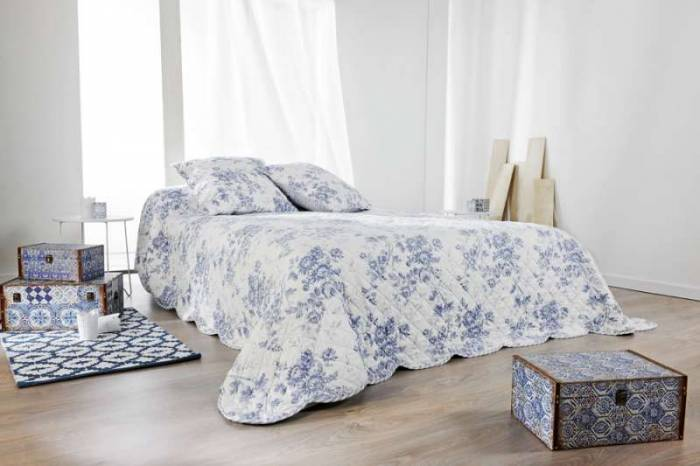 Set cuvertură de pat și fețe de pernă Cabourg