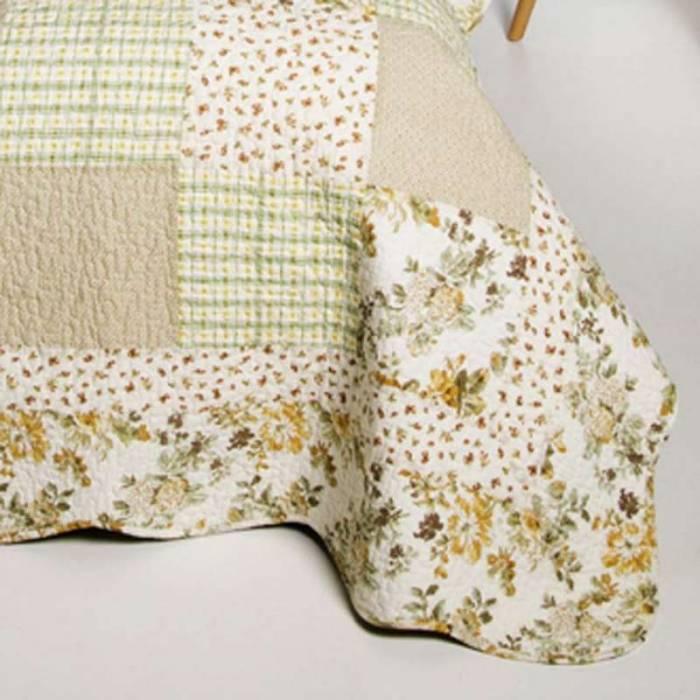 Set cuvertură de pat și fețe de pernă Gwendoline