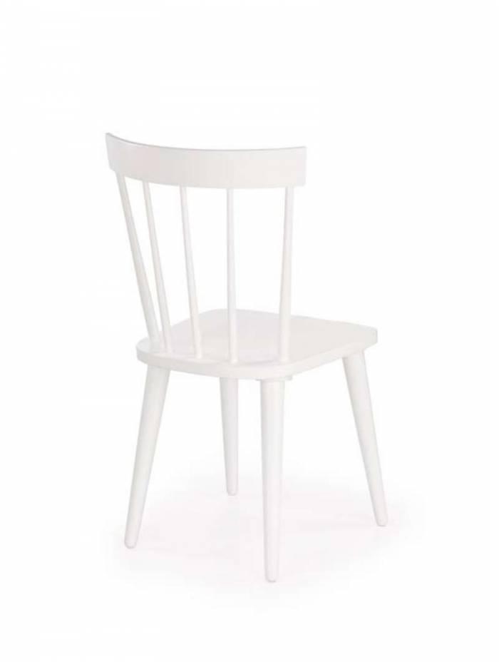 Scaun alb de dining Gloster