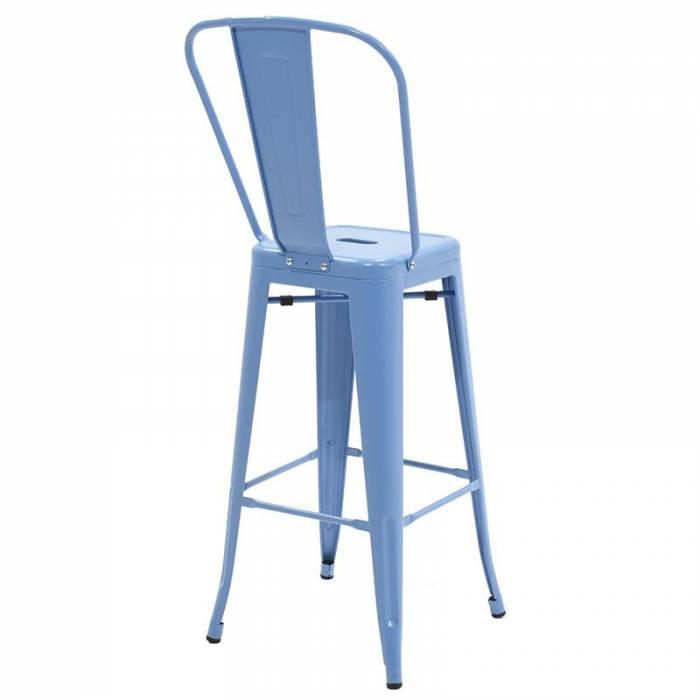 Scaun de bar Packard Blue