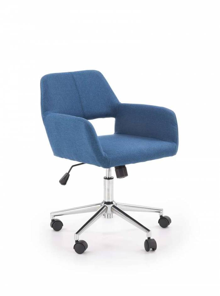 Scaun de birou albastru Morel