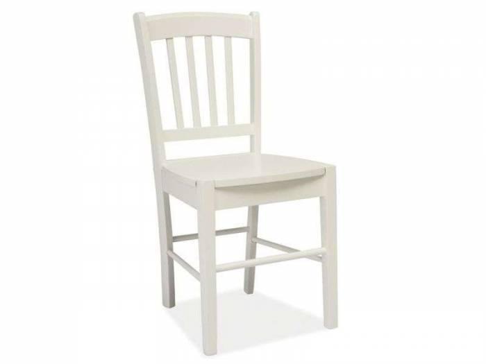 Scaun dining alb Adam