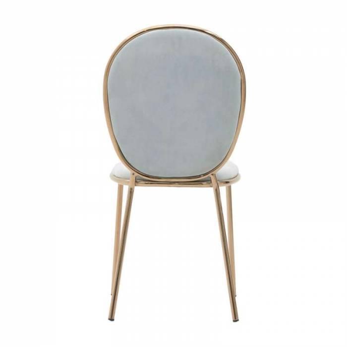 Scaun dining albastru Cammie - Resigilat