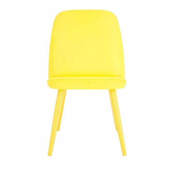 Scaun Teddy Yellow