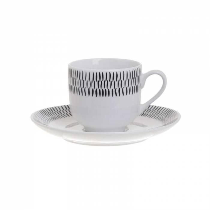 Set de 6 cești de cafea Glenn
