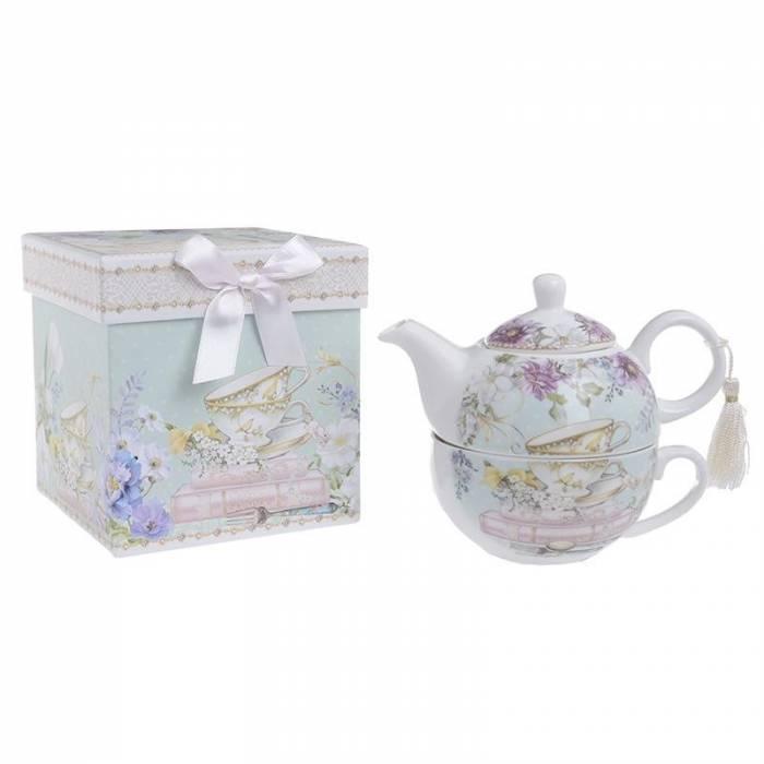 Set de ceai în cutie cadou Spring