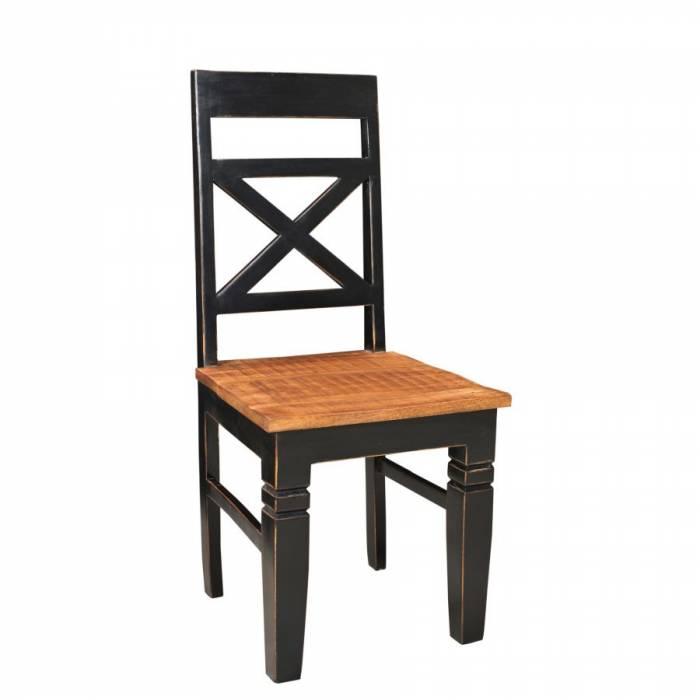 Set de două scaune din lemn Bastia