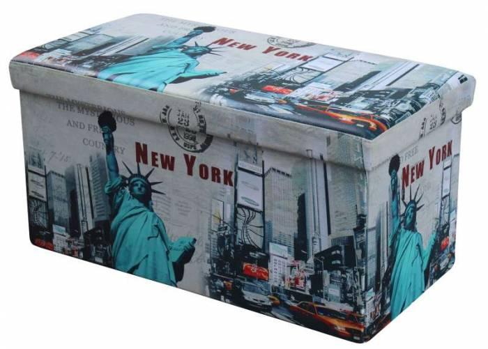 Taburet din pvc New York