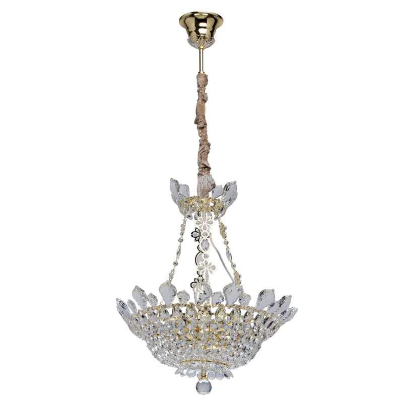 Candelabru clasic cu detalii aurii Auxerre poza