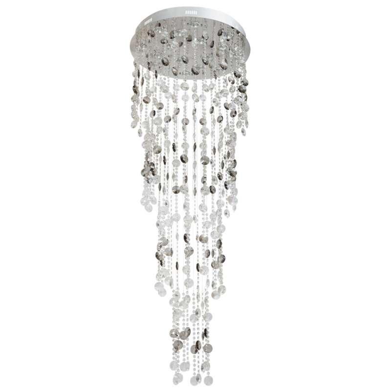 Candelabru cu cristale în cascadă Charlotte poza