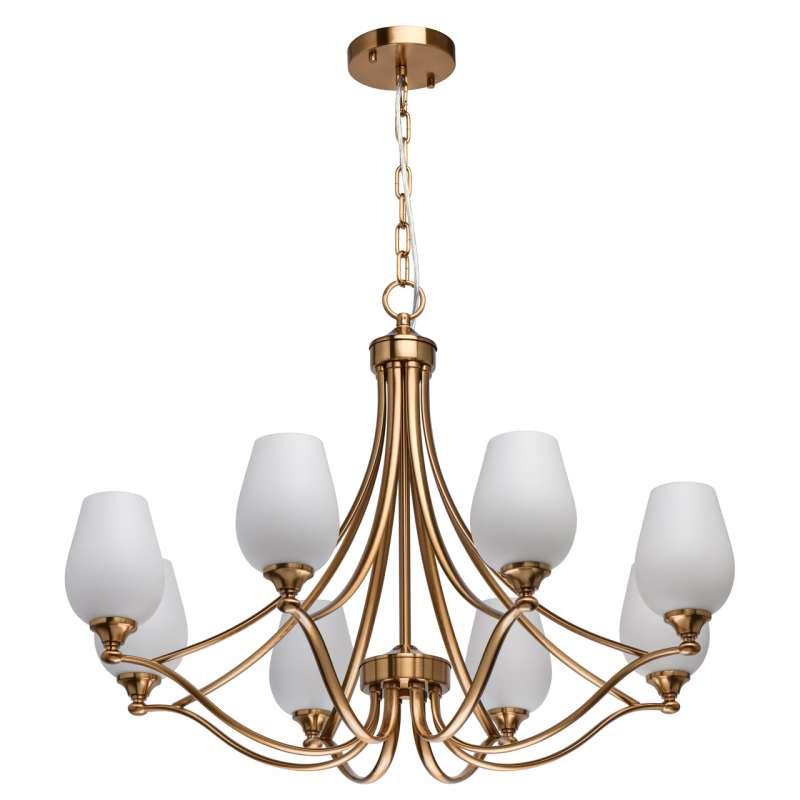 Candelabru elegant auriu Pandia poza