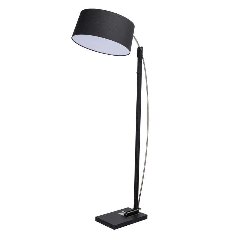 Lampadar negru Noah 198 cm , 172x48.5x82.5 cm, metal, negru poza