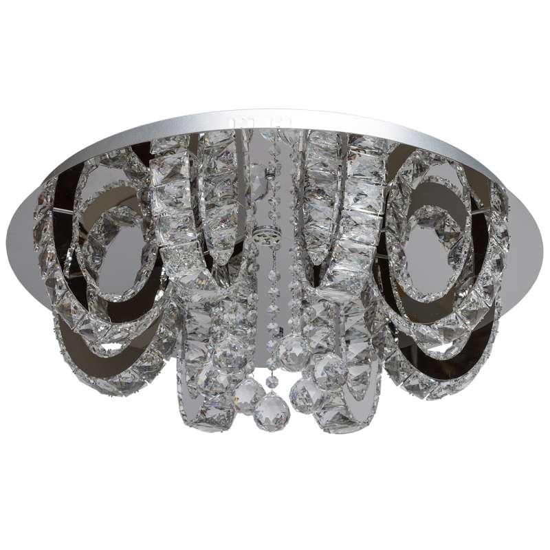 Plafonieră clasică cu cristale Varese poza