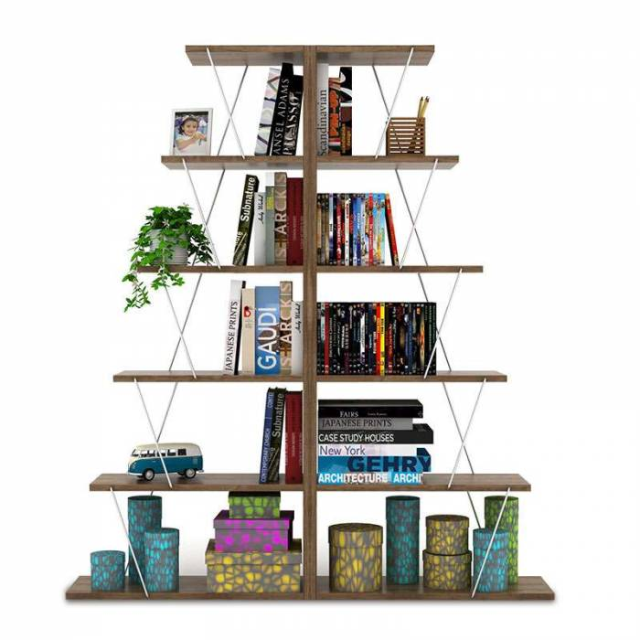 Bibliotecă Mini Tars Walnut
