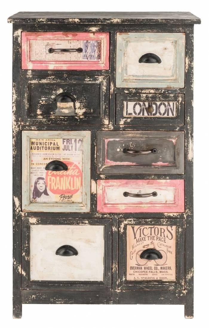 Comodă vintage cu sertare Retros
