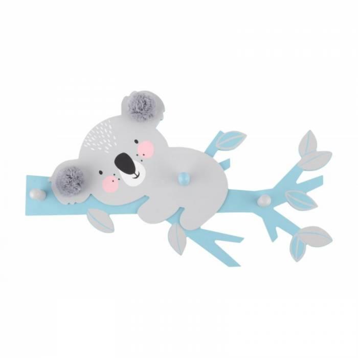 Cuier pentru copii Kokoa Blue 39x24 cm