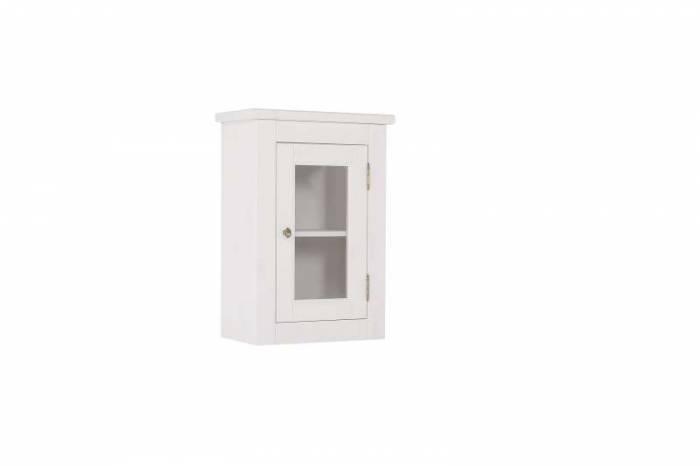 Dulap superior Romantic, 70x45x26 cm, lemn, alb