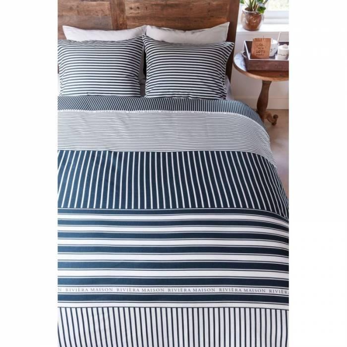 Lenjerie de pat Hilton Head Blue 200x200/220 cm