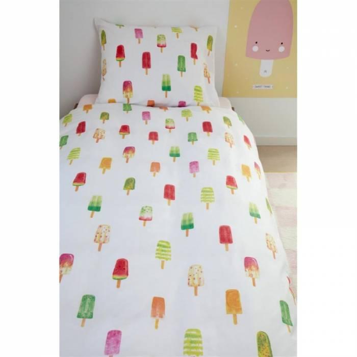 Lenjerie de pat pentru copii Ice Cream 140x200/220 cm
