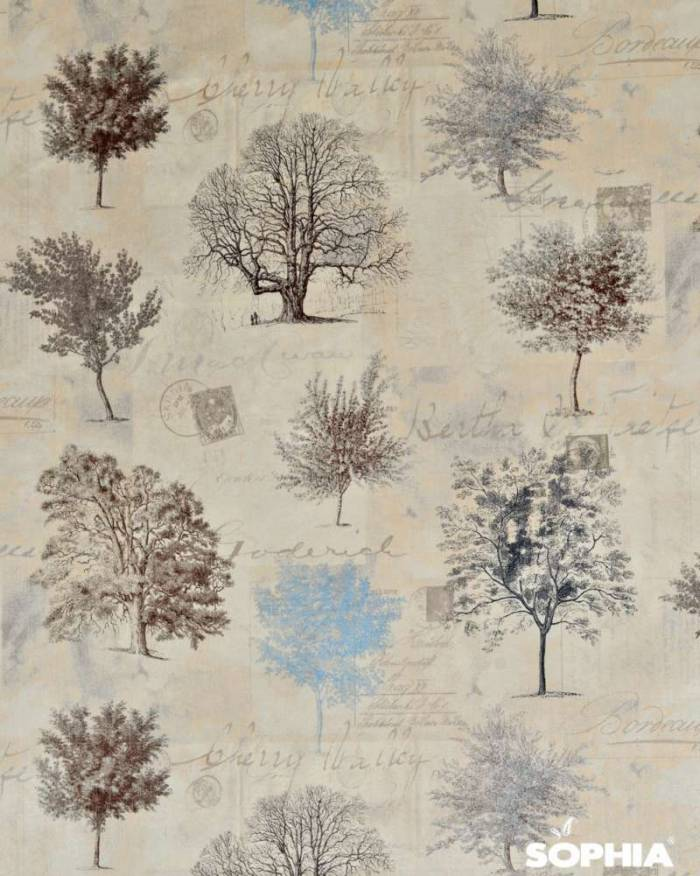 Material draperie Arborea Cielo