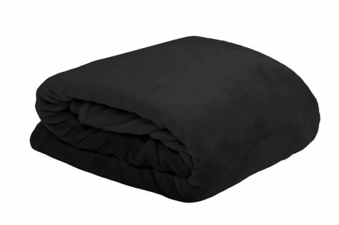 Pătură neagră pufoasă Doudou Noir 130x160 cm