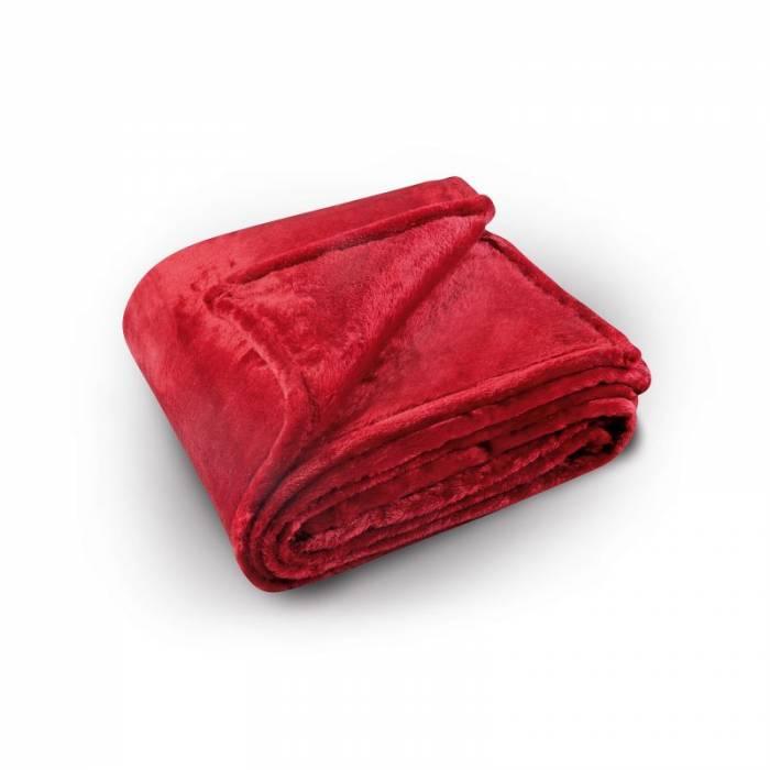 Pătură roșie Pilonga 220x240 cm