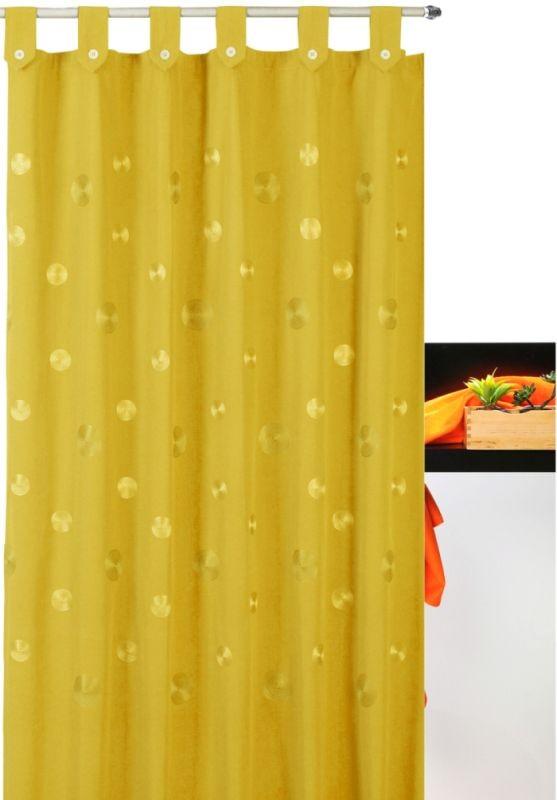 Perdea de duș galbenă Camelia Amarillo 180x200 cm