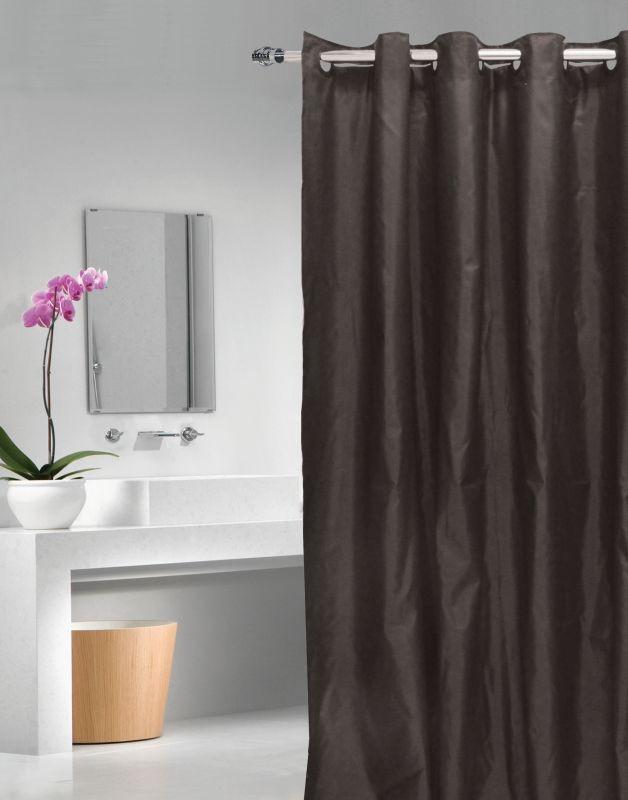 Perdea de duș neagră Magica Lisa 180x200 cm