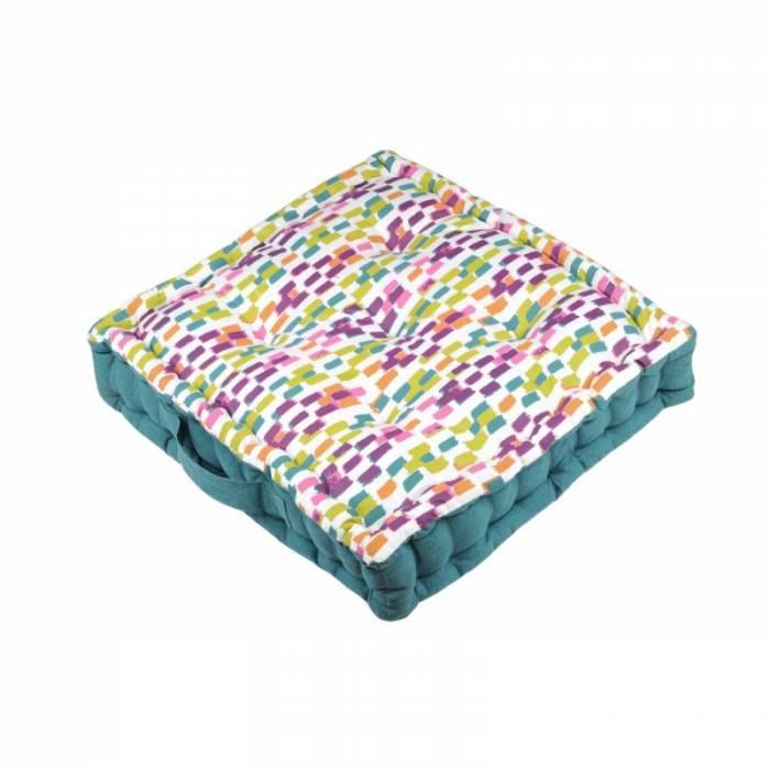 Pernă de podea Jacara Multicolor 45x45x10 cm
