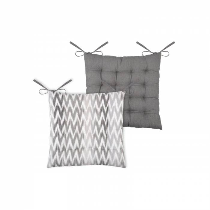 Pernă pentru scaun gri Ikati Rayee Gris 40x40 cm