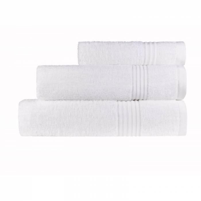 Prosop de mâini alb 30x50 cm Calpe Blanc