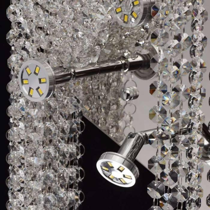Aplică clasică cu cristale Merano