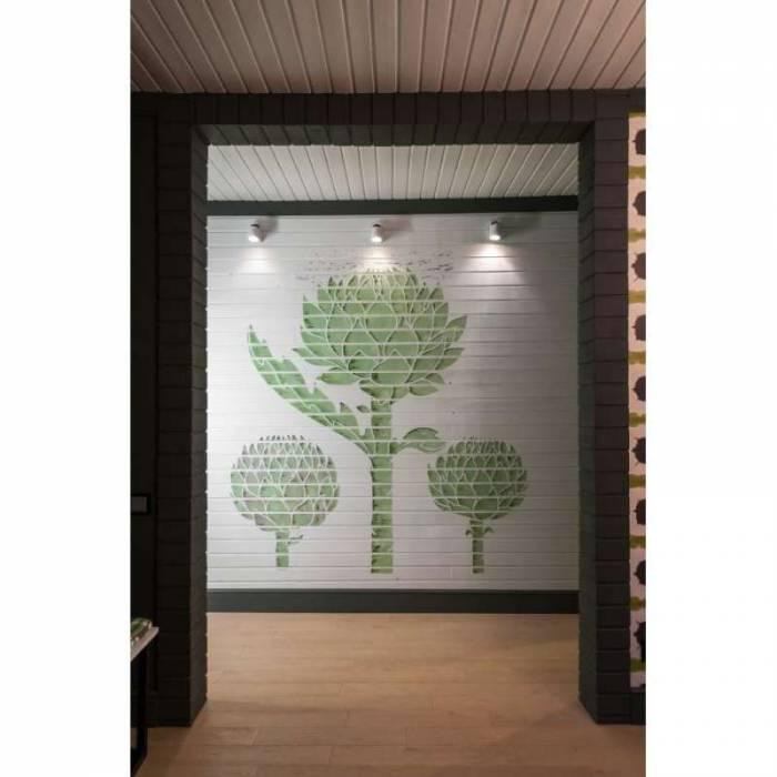 Aplică de perete Alfredo, 13x14x7 cm, metal, alb