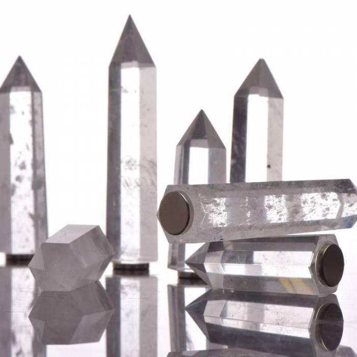 Aplică modernă cu cristale Globula