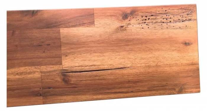 Cadru de pat Burma, 180 x 200 cm, lemn de acacia, natur