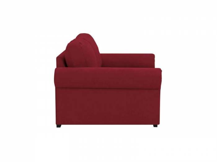 Canapea Hermes, 2 locuri, roșu, 180x104x85 cm