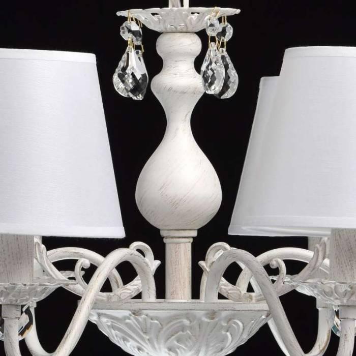 Candelabru alb elegant Vitalina