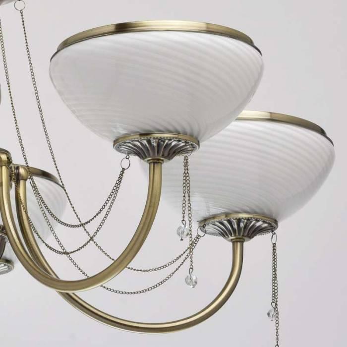 Candelabru clasic auriu Andreea