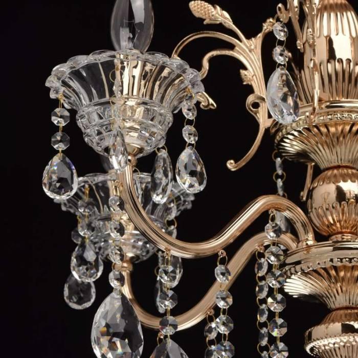 Candelabru clasic cu cristale Dennie