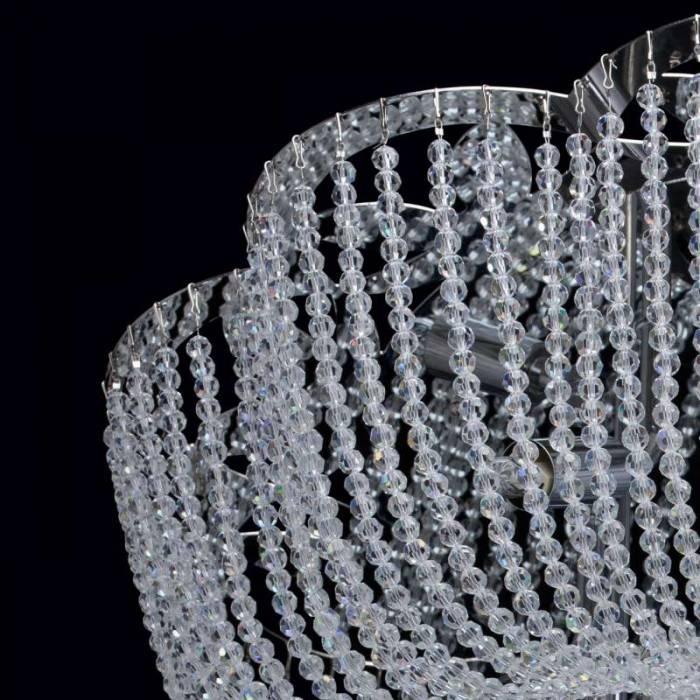 Candelabru clasic cu cristale Orlando