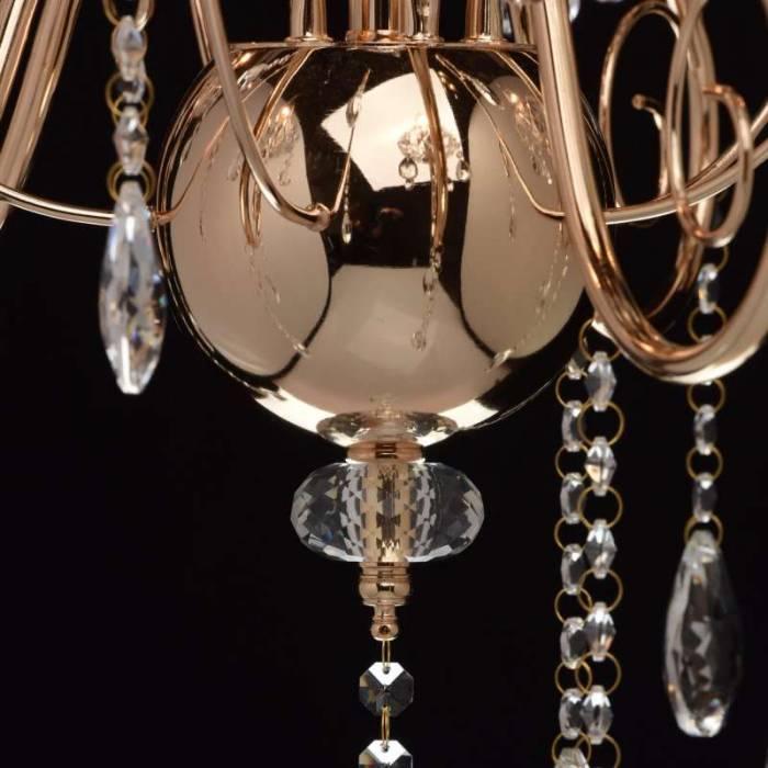 Candelabru clasic cu cristale Pegas