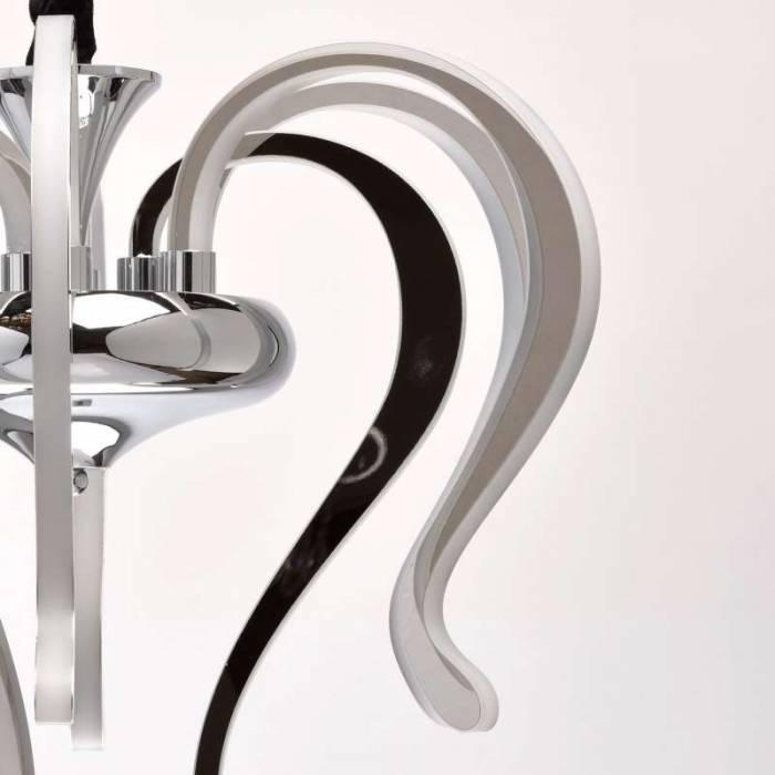 Candelabru metalic modern Romulus
