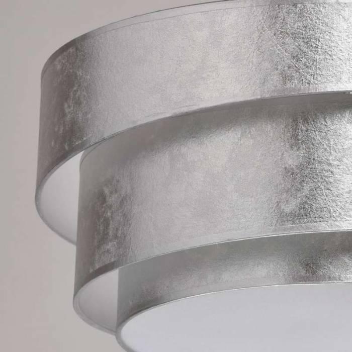 Candelabru modern argintiu Monterey