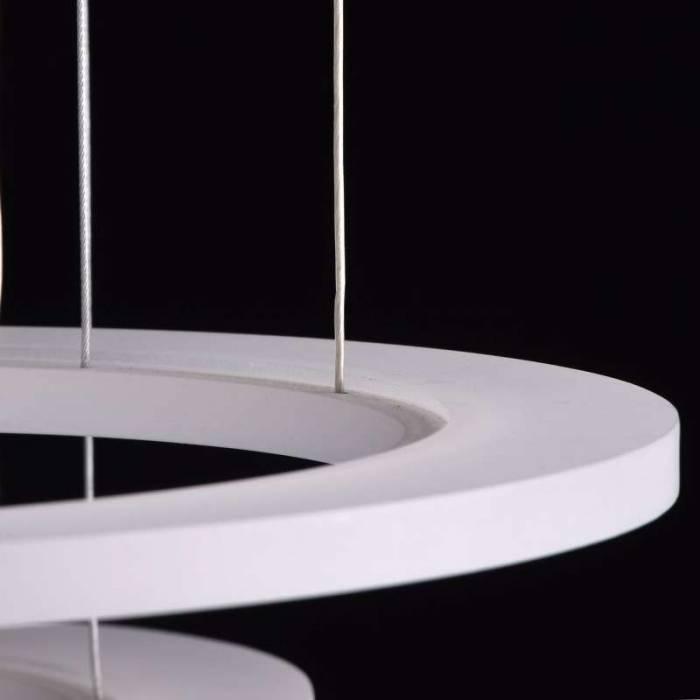 Candelabru modern cu cercuri Makram