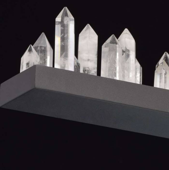 Candelabru modern cu cristale Globula