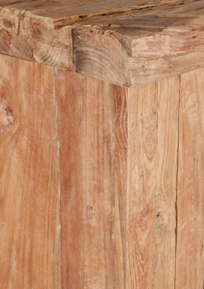Etajeră cu sertare Koral, 195x45x70 cm, tec, maro