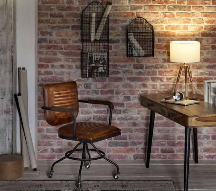 Etajeră suport pentru reviste Austin, 62x15x28 cm, metal, negru