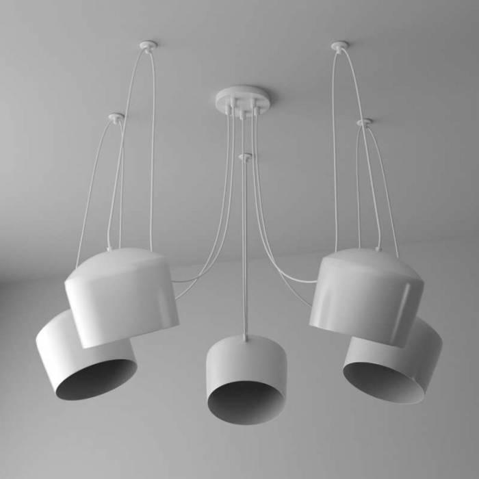 Lustră modernă albă Blum