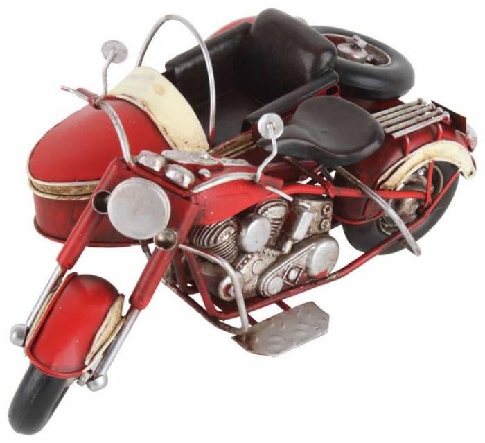 Machetă motocicletă retro Shon